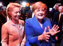 Eine Grafik zeigt, warum bei Bundestagswahlen die Gewinnerin zuletzt immer Merkel hieß