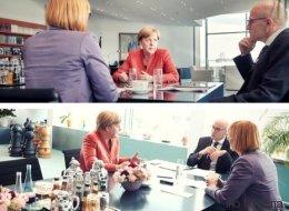 Exklusiv-Interview mit Kanzlerin Angela Merkel: