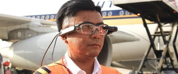 AR GLASSES CHANGI AIRPORT