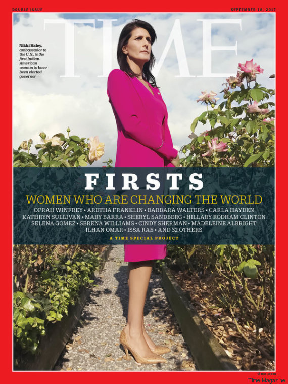 nikki haley time magazine cover