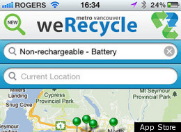 Werecycle Recycling App