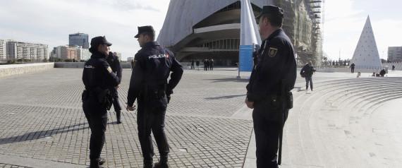 POLICE VALENCIA SPAIN