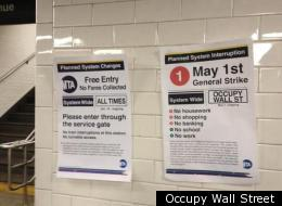 Occupy Wall Street Free Mta Fare Twu