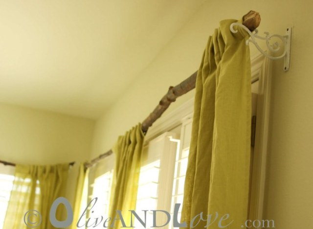 Do it yourself wooden curtain rods gopelling do it yourself curtain rod ideas gopelling net solutioingenieria Choice Image