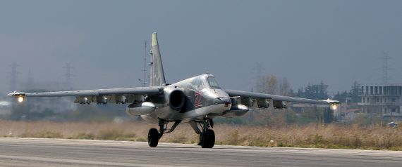 A RUSSIAN WARPLANE SYRIA