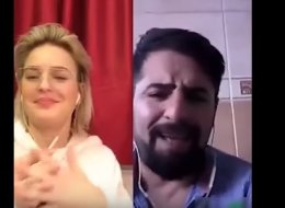 غيَّر كلمات أغانيها للغة الكردية.. فنانة عالمية تفاجئ شاباً تركياً وتغني معه في حفلها.. هكذا بدأت قصته