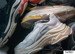 Εσείς θα δίνατε 550 ευρώ για να αγοράσετε αυτά τα βρώμικα αθλητικά παπούτσια;
