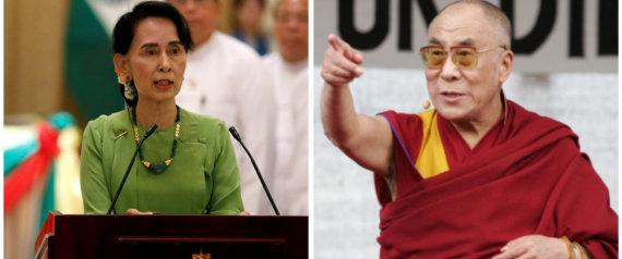 AUNG SAN SUU KYI DALAI LAMA