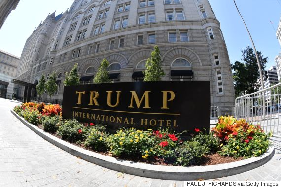 trump hotel washington