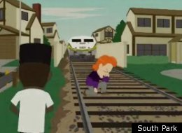 South Park Tebowing