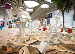 قاعة سينما وحديقة فراشات ومقاعد للمساج.. أشياء مبهجة في انتظارك في مطار سنغافورة