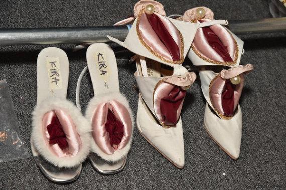 pussy shoes namilia