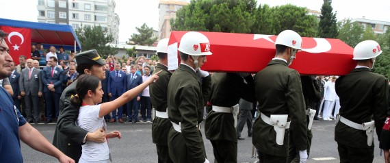 TURKEY FUNERAL ARMY