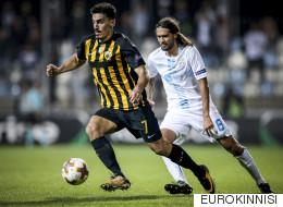 Ξεκίνημα για... πρόκριση 2-1 η ΑΕΚ τη Ριέκα