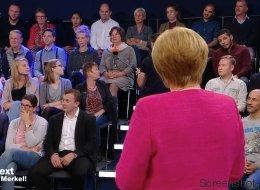 Merkel spricht im ZDF über die Rente - bis eine Zuschauerin die Beherrschung verliert