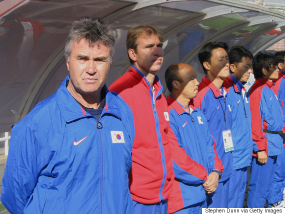 guus hiddink korea