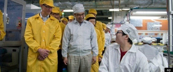 Apple Foxconn Factory Revamp