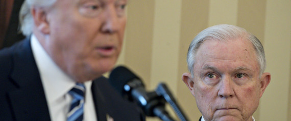 JEFF SESSIONS TRUMP WHITE HOUSE