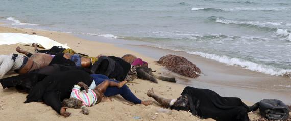 MIGRANTS DEAD BEACH