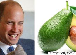 Warum ein Vierjähriger Prinz William ausgerechnet eine Avocado in die Hand gedrückt hat