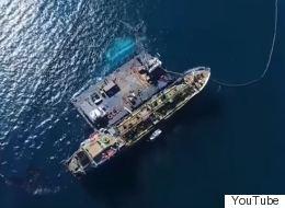 Βίντεο: Πτήση πάνω από το σημείο του ναυαγίου του Αγία Ζώνη ΙΙ στον Σαρωνικό