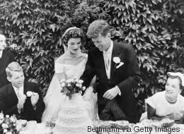 Σπάνιο φωτογραφικό υλικό από το γάμο των John και Jackie Kennedy
