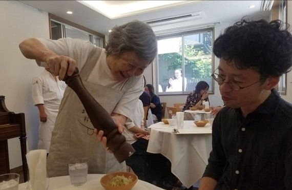 a japanese restaurant with dementia