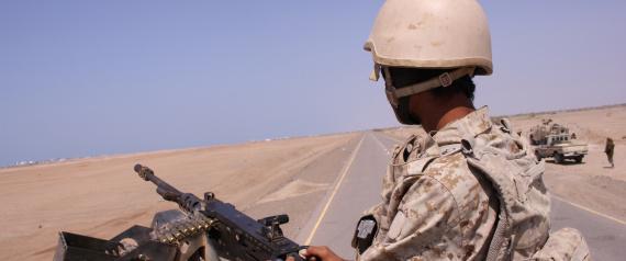 A YEMENI SOLDIER