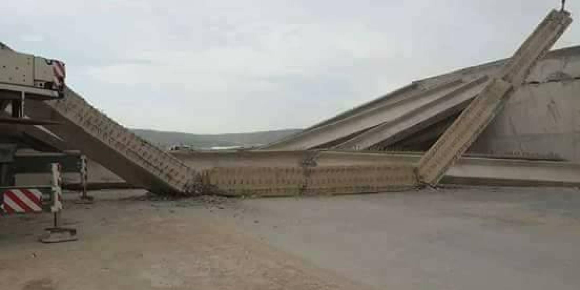 Un pont s'effondre à Tebessa : erreur de construction ou fraude ?