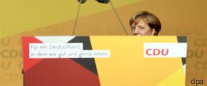 WAHLKAMPF CDU