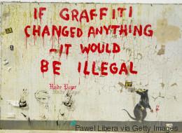 Ο Banksy δωρίζει 205.000 λίρες σε ανθρωπιστικές και αντιμιλιταριστικές ομάδες