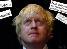 Großbritanniens Außenminister Johnson redet den Brexit schön - und wird von den Medien zerrissen