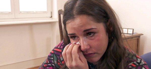 Sarah Lombardi geht vor Fernseh-Kameras zum Psychologen - und kann nicht aufhören zu weinen
