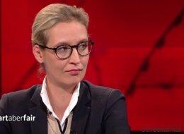 Ein Student iranischer Abstammung treibt AfD-Spitzenkandidatin Alice Weidel bei