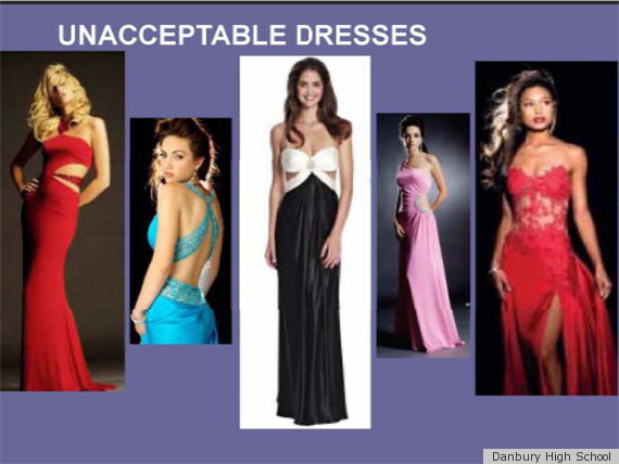 Prom Dress Codes Addressing Too-Sexy Red Carpet Trends (PHOTOS ...