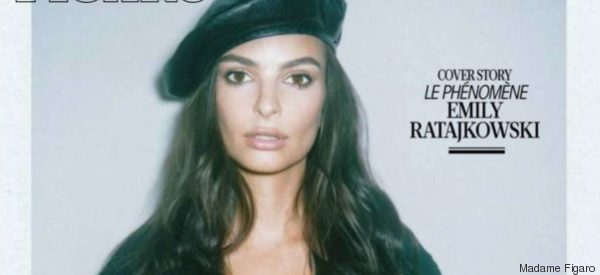 Emily Ratajkowski erschien so auf einem Magazincover - und ist entsetzt