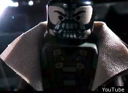 Dark Knight Rises Lego Trailer