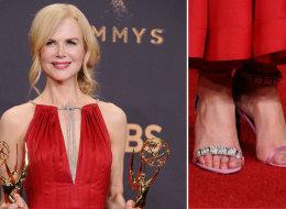 نيكول كيدمان ارتدت فردتي حذاء غير متطابقتين في حفل