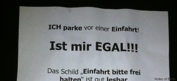 Berliner regt sich über Falschparker auf – und greift zu einer radikalen Maßnahme