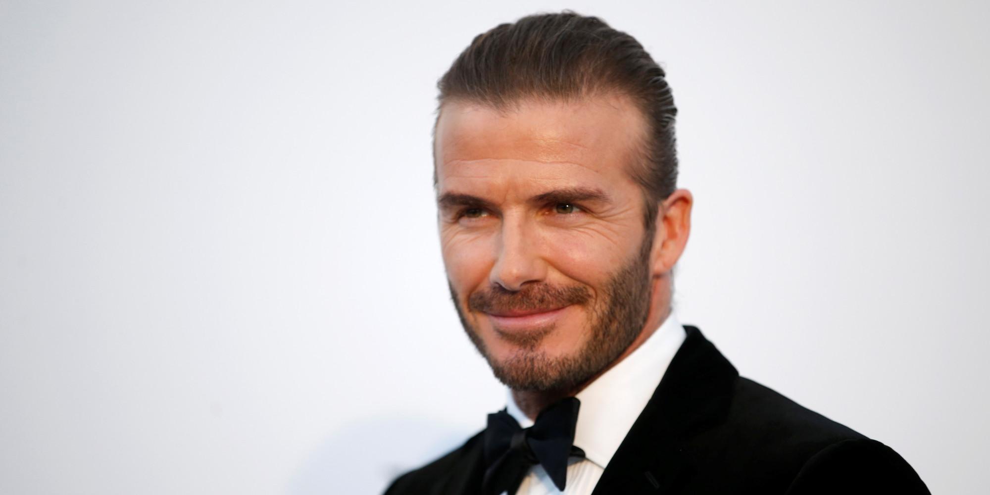 데이비드 베컴이 한국 축구 대표팀에 조언했다 David Beckham Facebook
