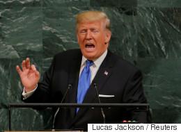 트럼프의 '북한 파괴' 연설에 대한 백악관의 설명