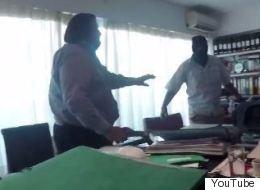 Επίθεση του «Ρουβίκωνα» σε συμβολαιογραφείο