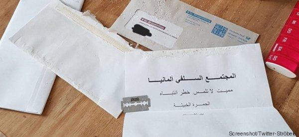 Unbekannte schicken Briefe mit weißem Pulver an mehrere Spitzenpolitiker