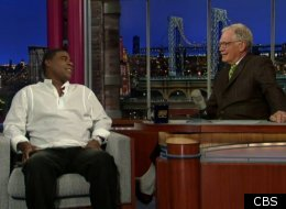 Tracy Morgan Letterman
