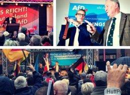 Wir waren eine Woche auf Wahlkampf-Veranstaltungen der AfD - das haben wir gelernt