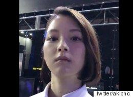 '도쿄 게임쇼' 방문객은 이 여성이 로봇인 줄 알았다