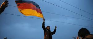 Migrants German Flag