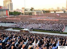 북한은 지금 반미 열기로 무척이나 뜨겁다