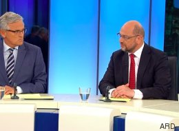 Schulz schaltet in der Elefantenrunde auf Opposition - seine Abrechnung mit Merkel ist gnadenlos