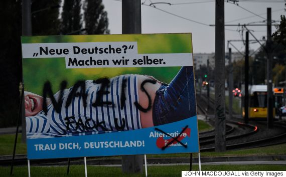 german election poster